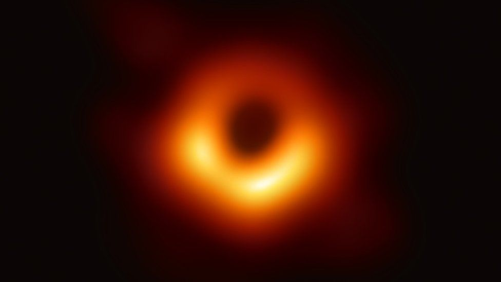First Ever image of Black Hole released by Astronomers