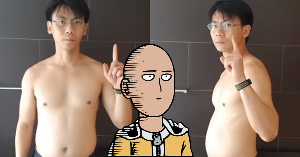 Middle-Aged-Guy Trained Like Saitama For 60 Days