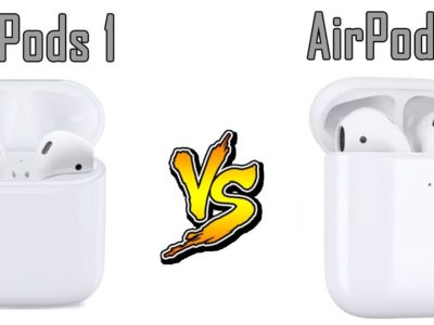 Apple Airpods vs Airpods 2