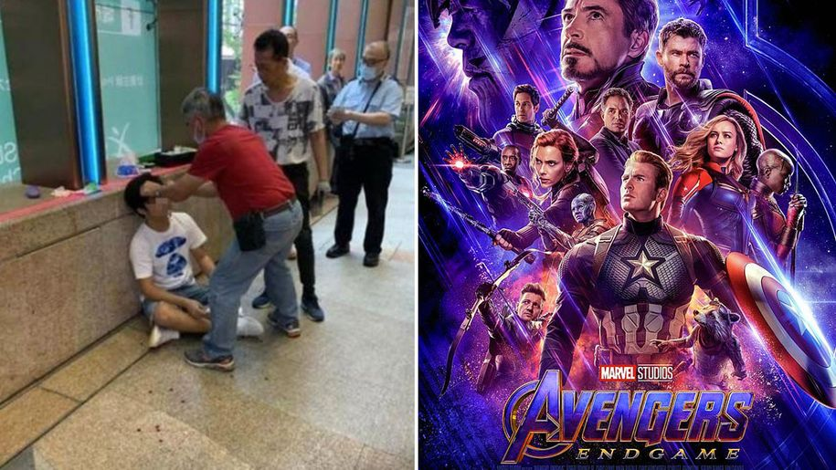 Avengers:Endgame-Man Allegedly Attacked for Spoiling The Movie