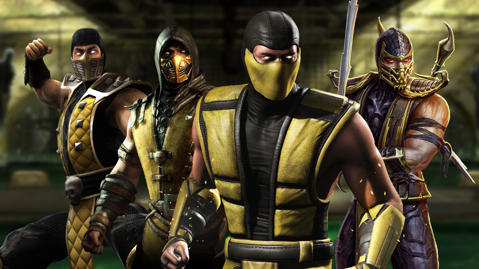 The Origins of Scorpion - Mortal Kombat's most iconic character
