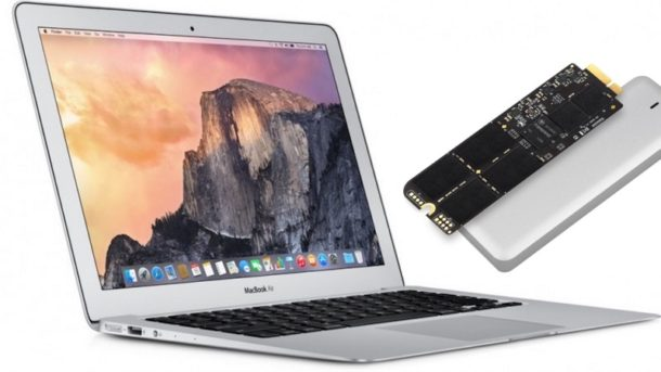 SSD Upgrades For MacBook Air, MacBook Pro and Mac Mini
