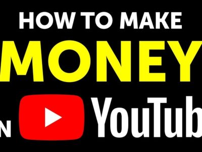 Here's How you can make money from YouTube.