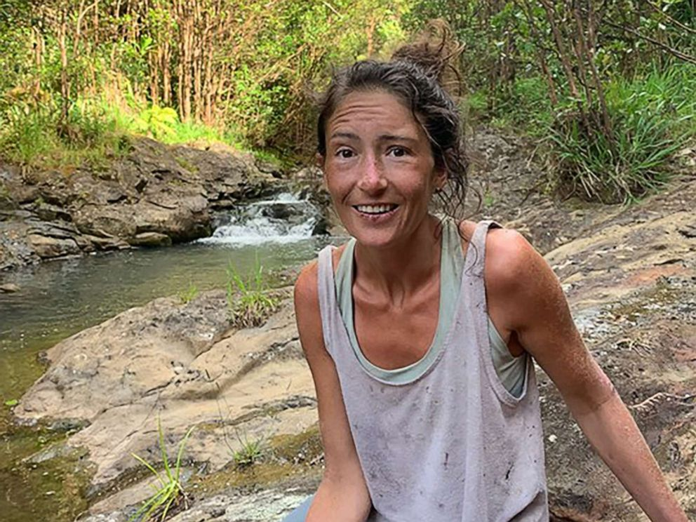 Amanda Eller who was lost in a forest in Hawaii found after 17 days
