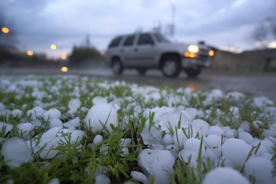 Houston & South-eastern Texas battered with Thunderstorm