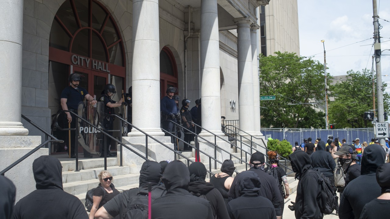 Ohio Spending $650,000 on security for the KKK rally-1