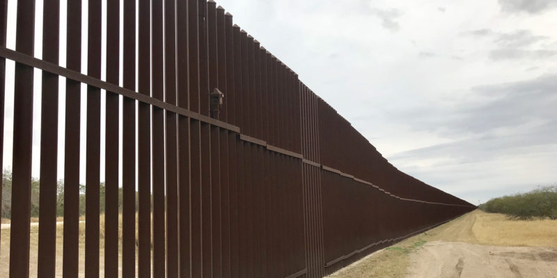 Private Group 'We Build the Wall' unveiled half-mile section of a border wall in New Mexico