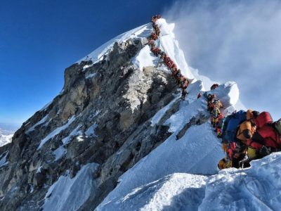 Mount Everest: Why the summit can get so crowded