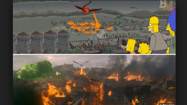 The Simpsons Predicted that Enormous Game of Thrones Twist back in 2017