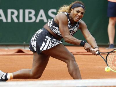 French Open 2019 : Serena Williams survives first set loss, advances to second round