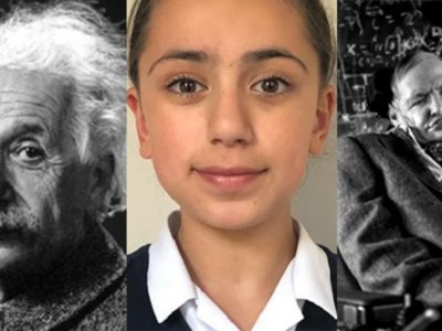 Shooting ahead of Einstein and hawking Mensa IQ score, 11-year-old Iranian girl scores the highest of all