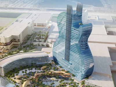 The World's First Guitar-Shaped Hotel To Open In South Florida