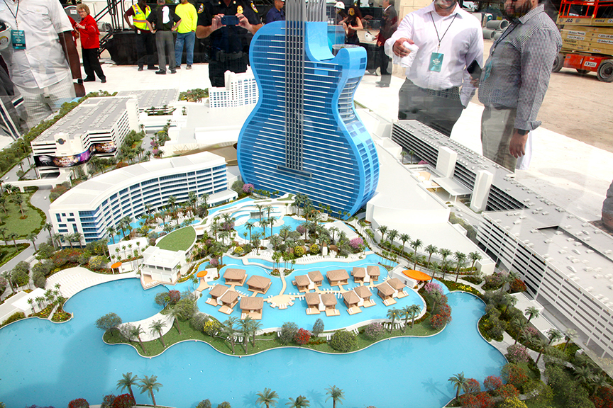 The World's First Guitar-Shaped Hotel To Open In South Florida This Fall