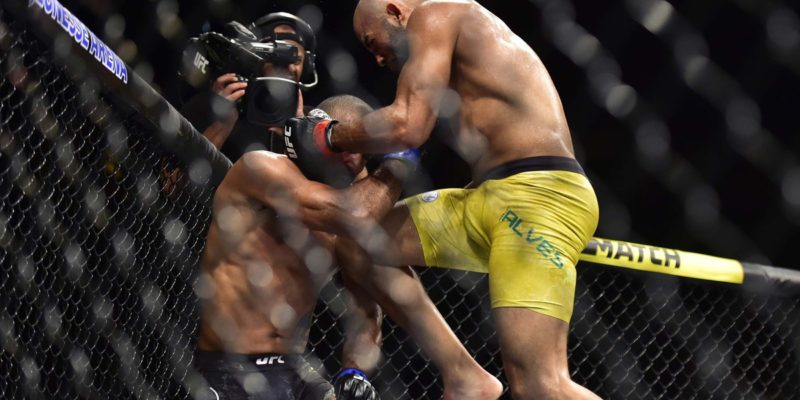 Warlley Alves made a victory by knocking out Sergio Moraes