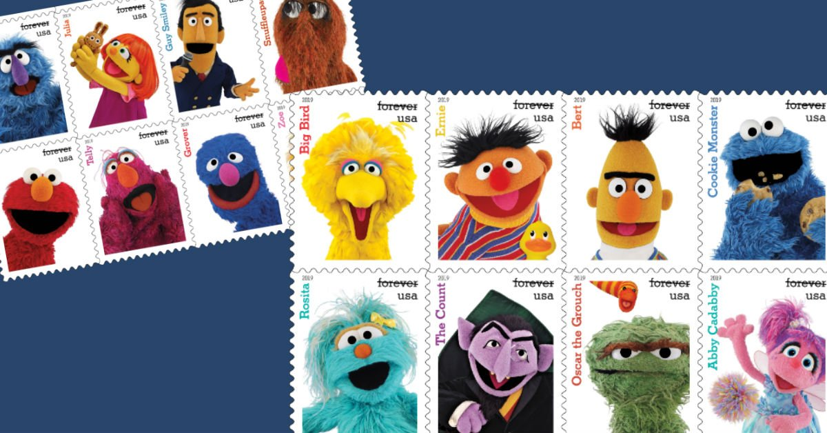 """The """"Sesame Street Show"""" releases 50th Anniversary Postal Stamps"""