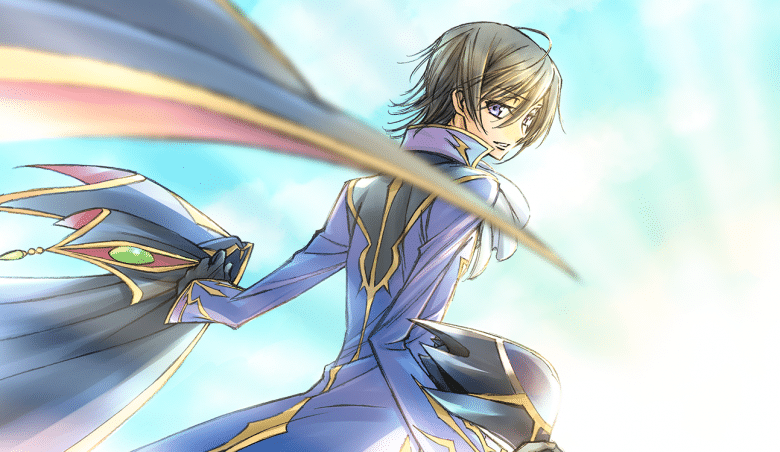 Code Geass is phase 1 of the 10 year plan