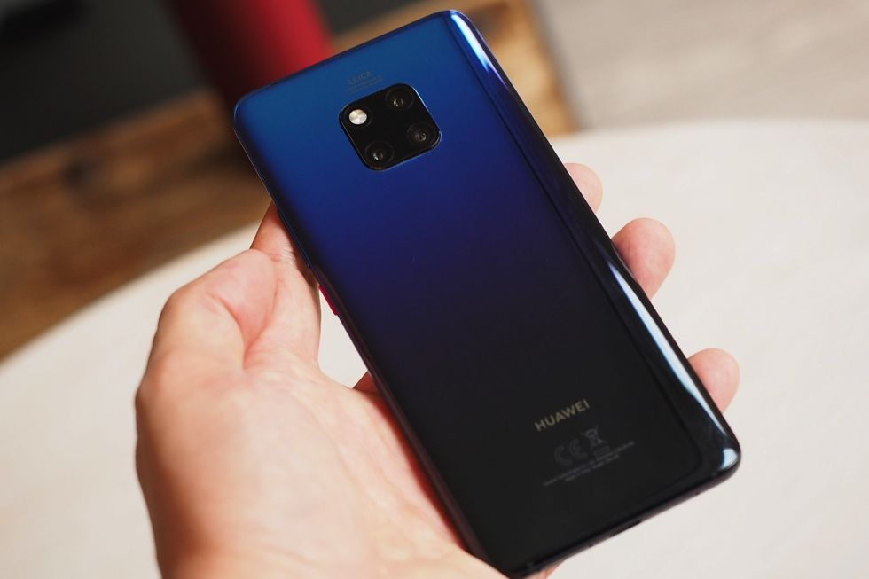 Hauwei Mate 30 Pro curved display, 55W fast charging and other features