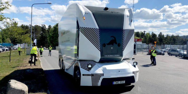 Driverless Electric Vehicle Delivery started in Sweden