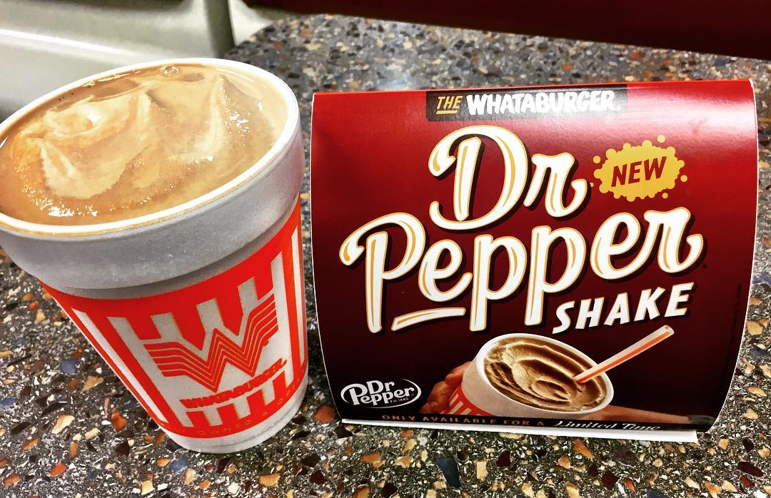 Whataburger Debuts the Ultimate Texas Treat: A Dr Pepper Shake