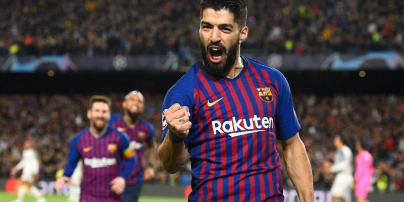 Champions League - FC Barcelona makes a 3-0 win against Liverpool at Camp Nou