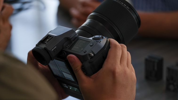 Fujifilm GFX 100 available at $10000 with hybrid autofocus and many other features