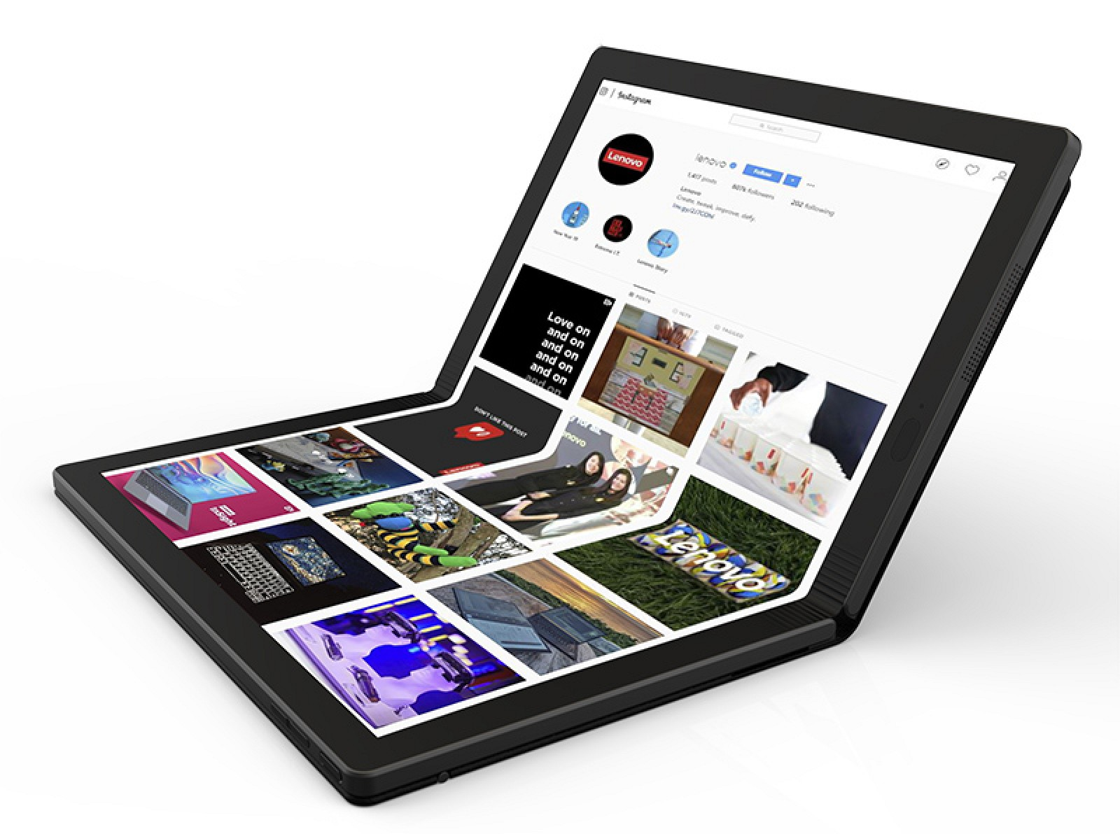 Lenovo launches foldable Pc with new sub-brand