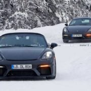 Porsche 718 Cayman and Boxster Touring models testing begun