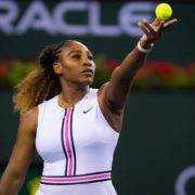 Serena Williams starts her run against Rebecca Peterson in Rome playoffs