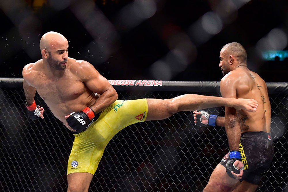 Warlley Alves made a victory by knocking out Sergio Moraes at UFC 237