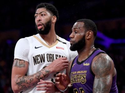 LeBron James trades 3 Lakers to grab Davis from Pelicans