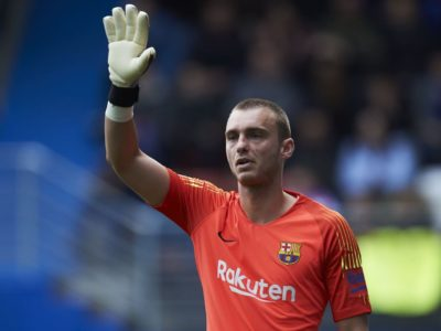 Barca goalkeeper Cilessen signed by Valencia