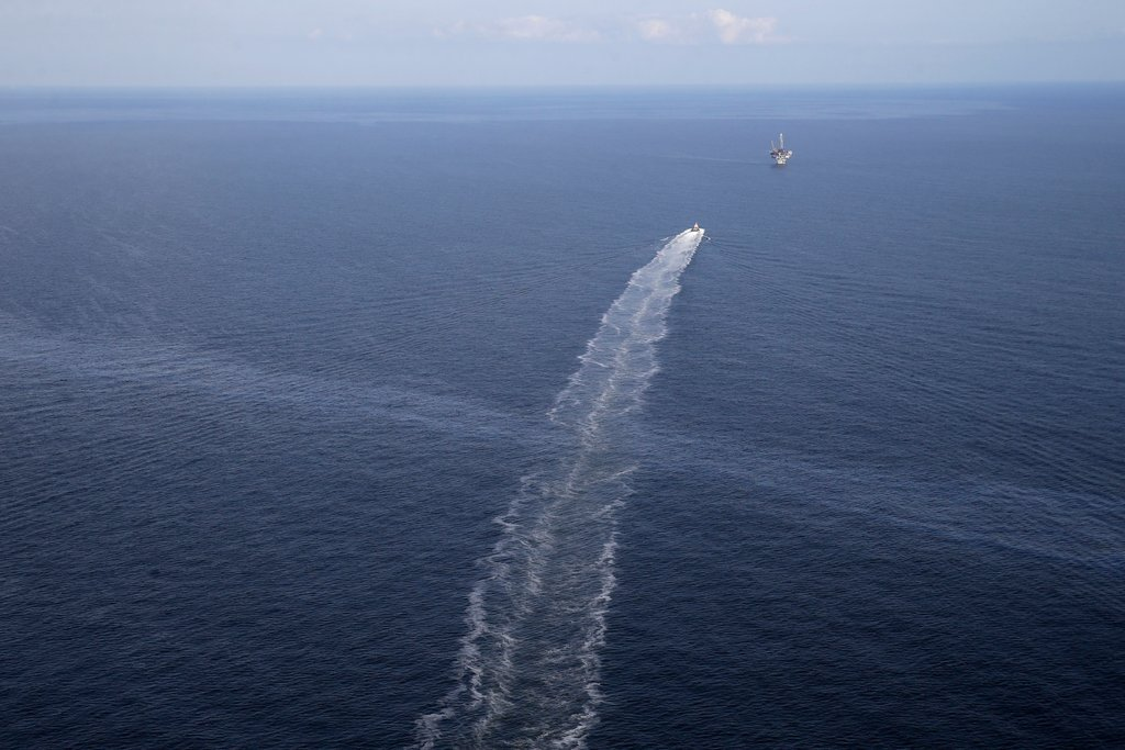 15 Years Old Oil Spill In The Gulf Of Mexico- 4,500 Gallons Of Oil Leaks Everyday
