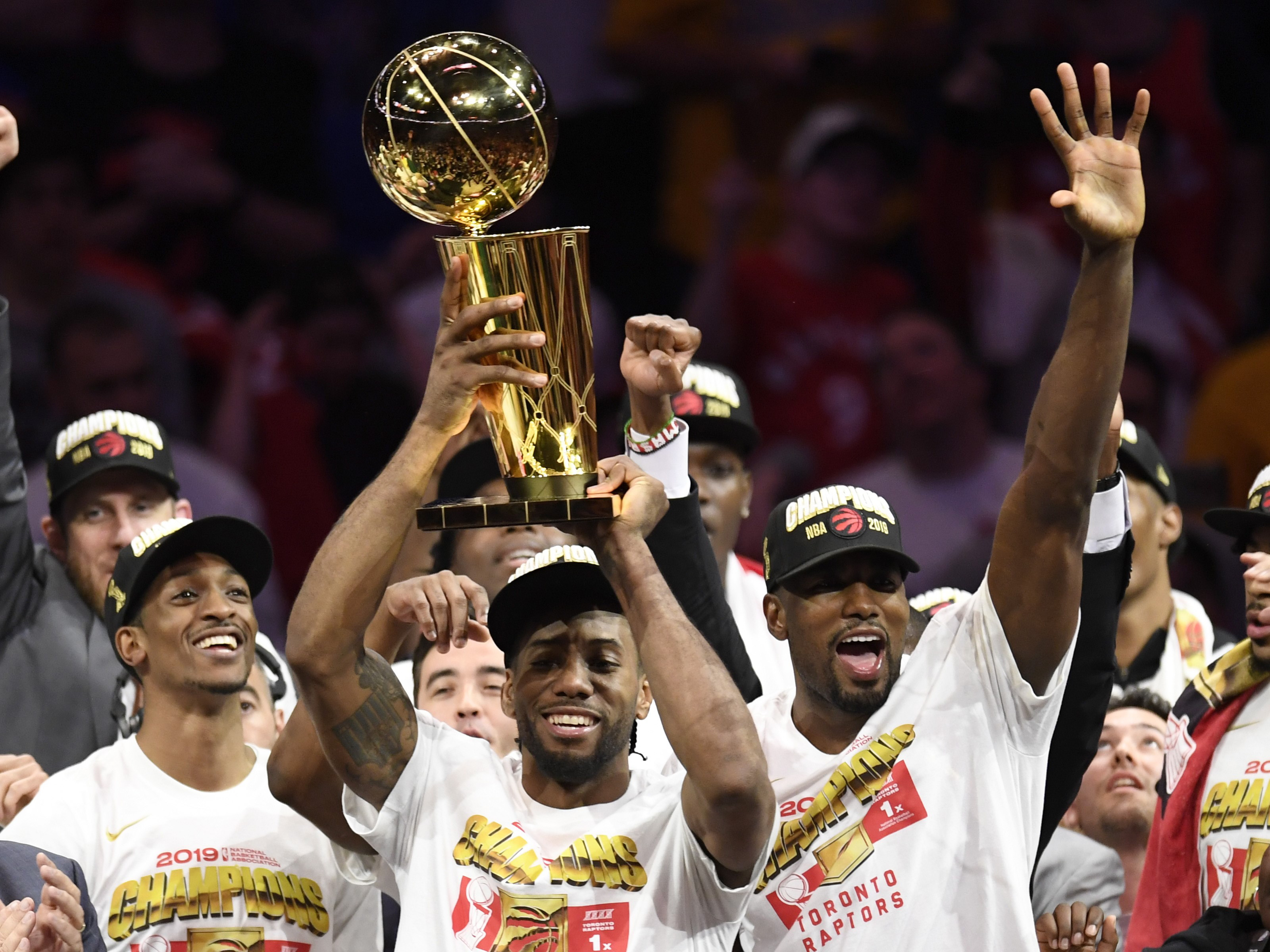 NBA Finals 2019 : Raptors end title drought by clinching series 4-2