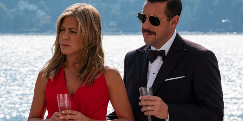 Adam Sandler And Jennifer Aniston Shares a Chit-Chat over Awkward Kissing In Netflix's Murder Mystery