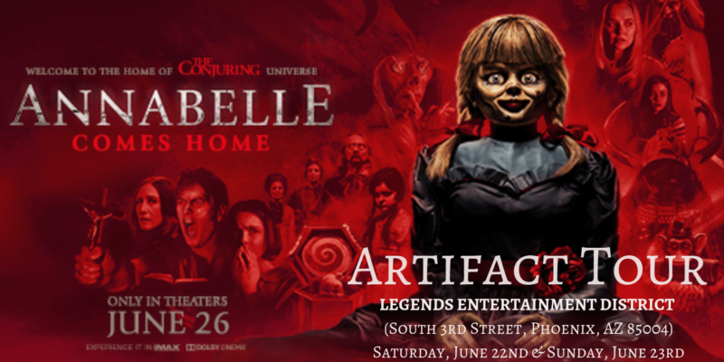 """""""Annabelle Comes Home"""" – A one-time watch"""