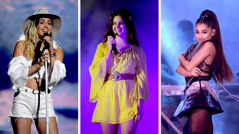 Ariana Grande, Miley Cyrus and Lana Del Rey collaborate for a new song in 'Charlie's Angels' 2019
