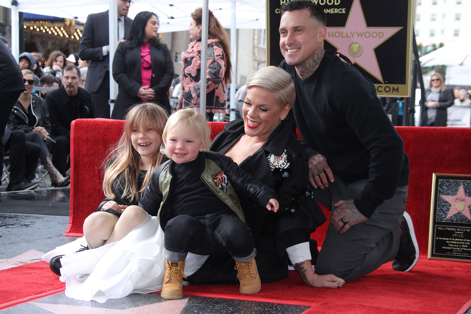 Husband Carey Hart joins Pink for Her Emotional Music Video of 90 Days