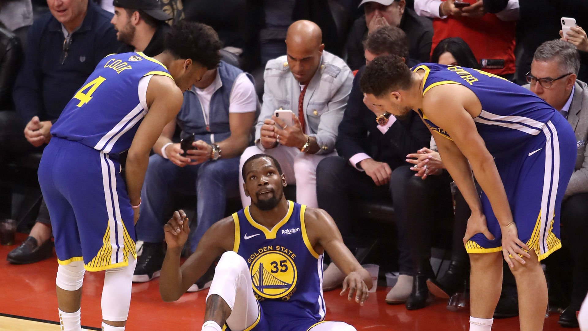 Golden State Warriors Kevin Durant Goes Into Surgery Due To A