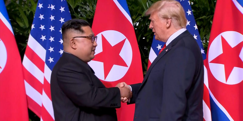 President Donald Trump said on Saturday that he would visit the Demilitarized Zone among North and South Korea on Sunday