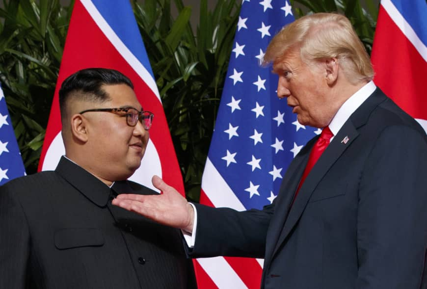 Kim Jong-un invited for a meeting by Donald Trump