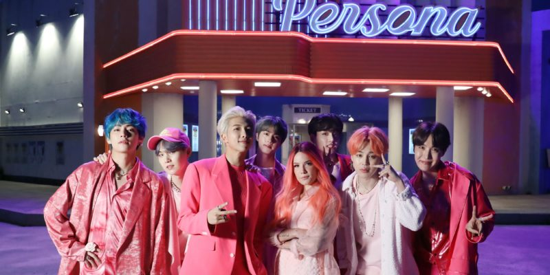Korean Band BTS Creates History with song Boy with Luv 1 e1559808226311