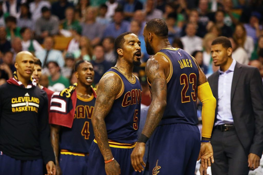 LeBron James may reunite with J.R.Smith