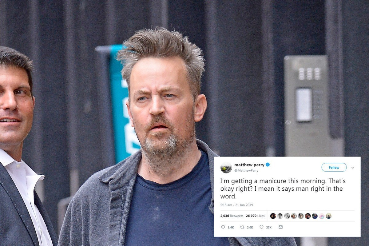 Matthew Perry had the Most Chandler Response Over Disheveled Appearance in NY