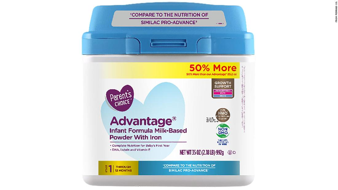 More than 23000 baby formulas that were sold at Walmart are being recalled