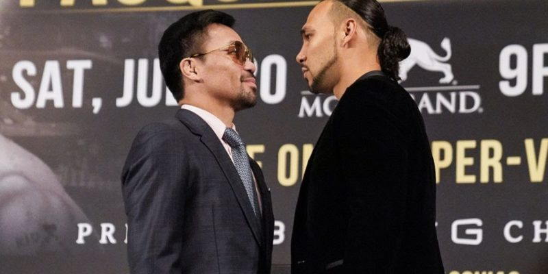 Manny Pacquiao wary of Keith Thurman's challenge at pay per view