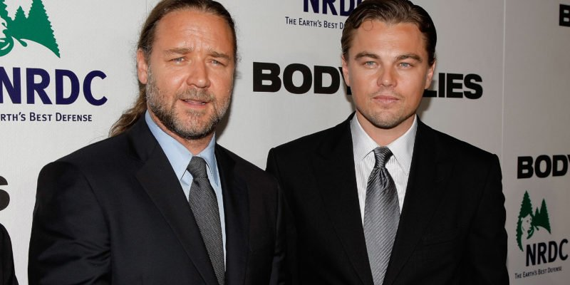 Russell Crowe Once Bought a Dinosaur Head From Leonardo DiCaprio