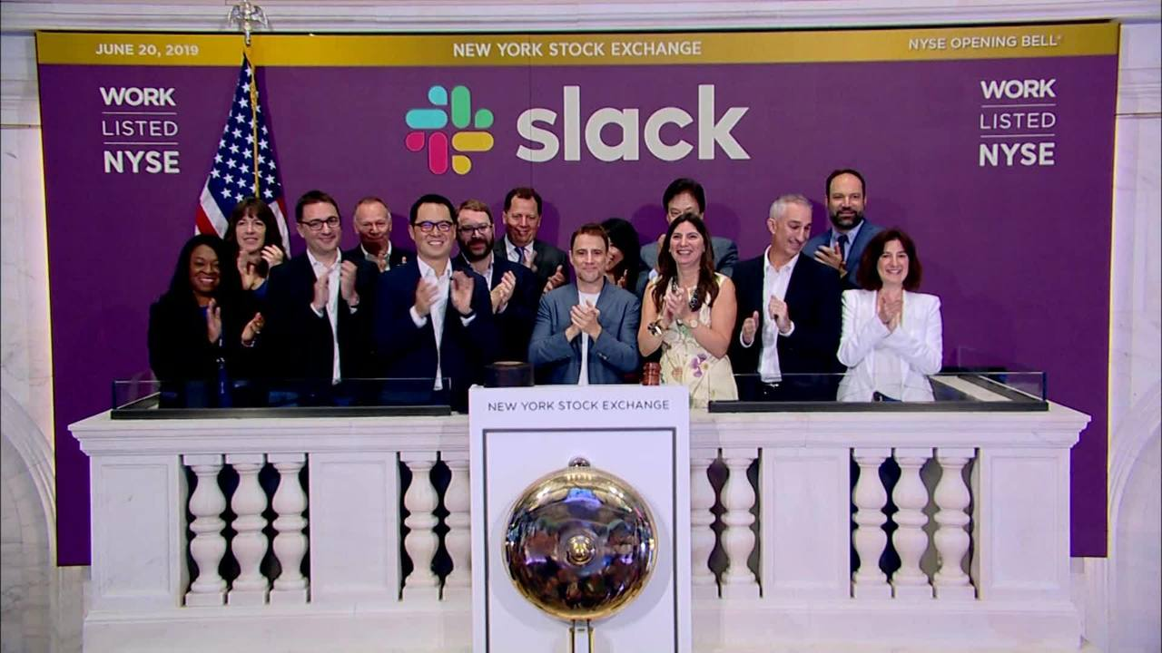 Slack goes public and it's value shoots up