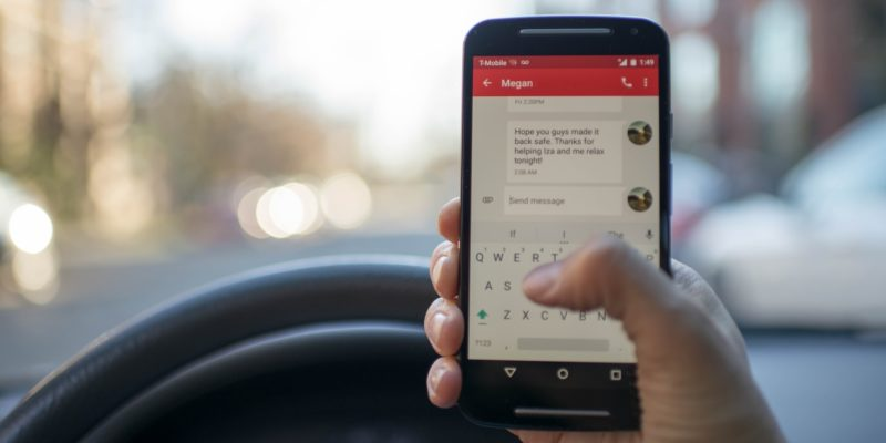 Tennessee bans handheld phone use while driving