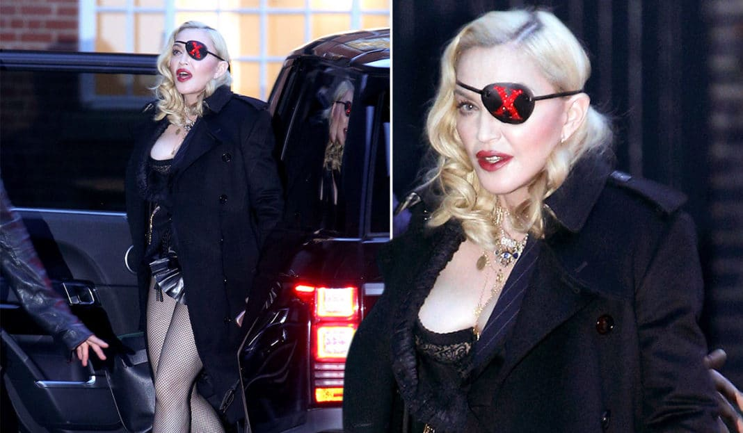 Eye Patch of Madonna: Mystery unveiled
