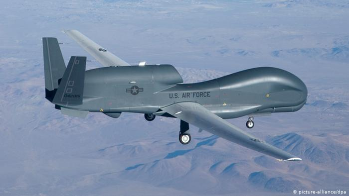 US military air drone shot down by Iran